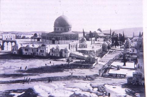 הר הבית במאה ה-19